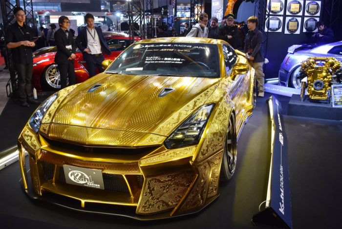 Gold-Plated Nissan R35 GT-R Is Worth $1 Million 5