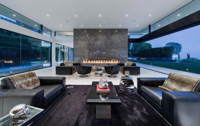 Splendid Modern Home In Bel Air, California (11)