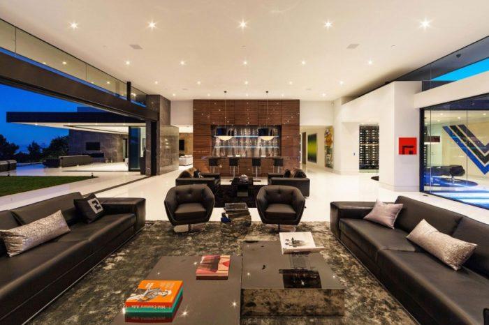 Splendid Modern Home In Bel Air, California (10)