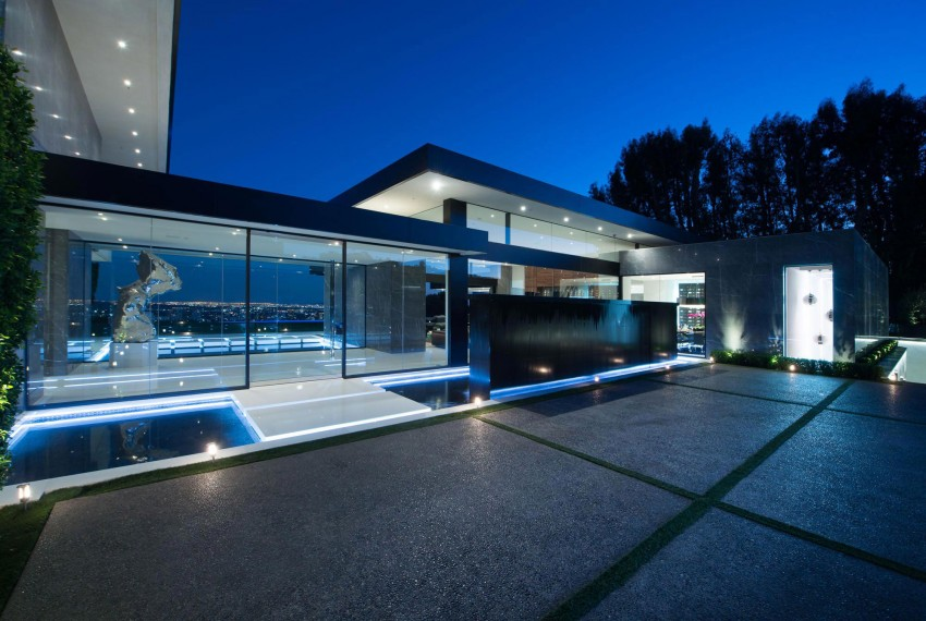 Splendid Modern Home In Bel Air, California (3)