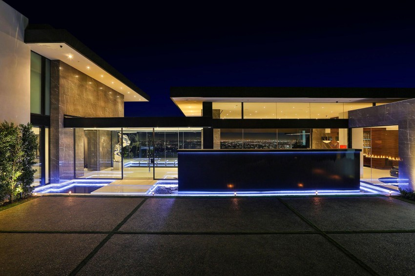 Splendid Modern Home In Bel Air, California (2)