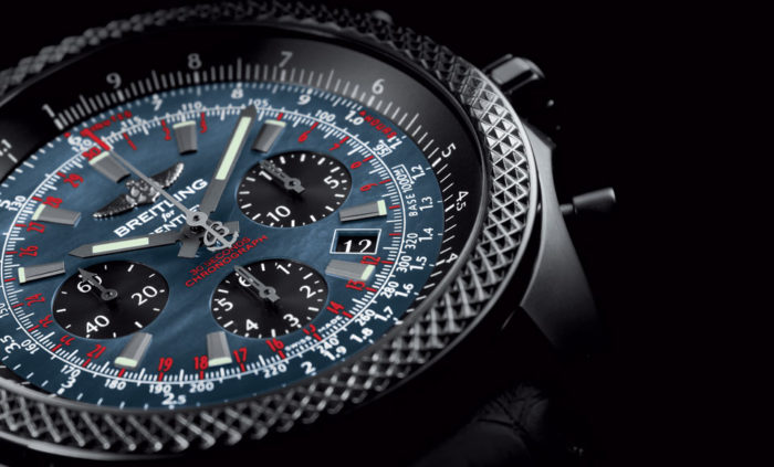 Bentley B06 Midnight Carbon Watch By Breitling (2)