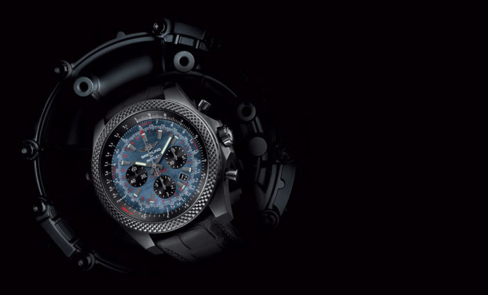 Bentley B06 Midnight Carbon Watch By Breitling (1)