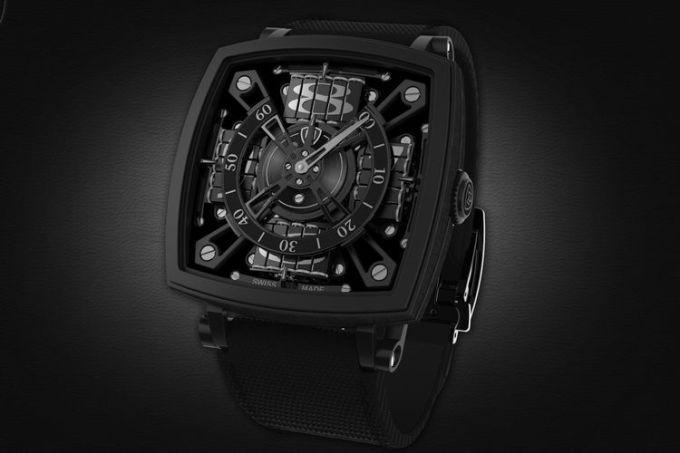 World's Blackest Watch Is Called S-110 Evo Venta Black