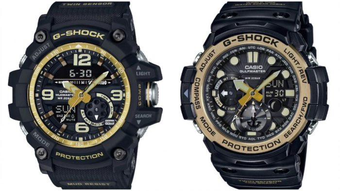 Check Out The Casio Master of G In Vintage Gold (1)