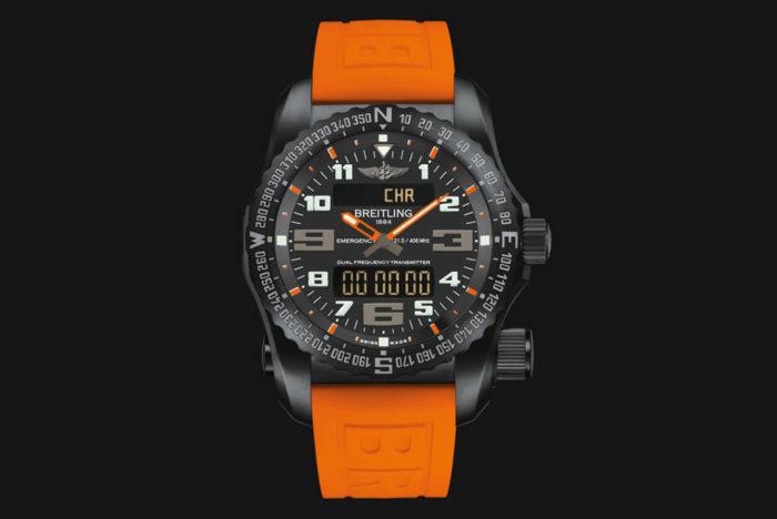 Emergency Night Mission Watch By Breitling 3