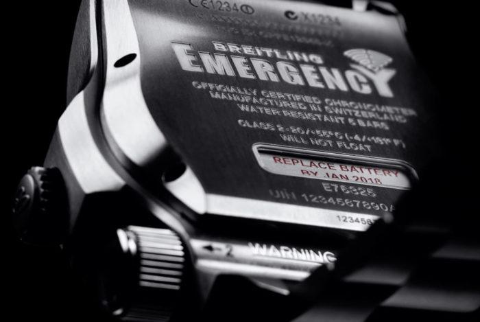 Emergency Night Mission Watch By Breitling 8