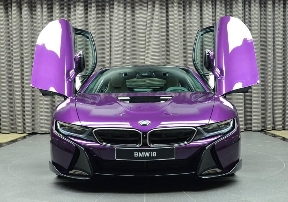 Purple BMW i8 Will Blow Your Mind (3)