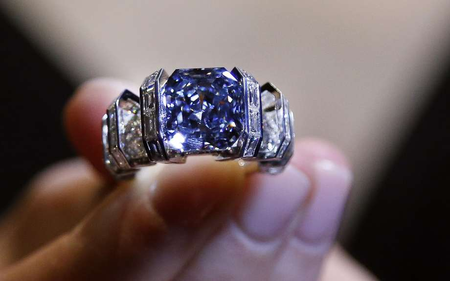 Sky Blue Diamond To Be Auctioned By Sotheby's 2