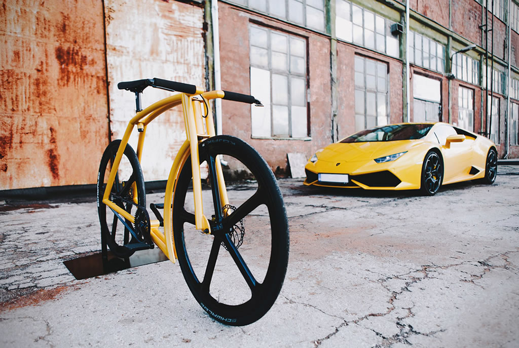 The Viks GT Lamborghini Bike 2
