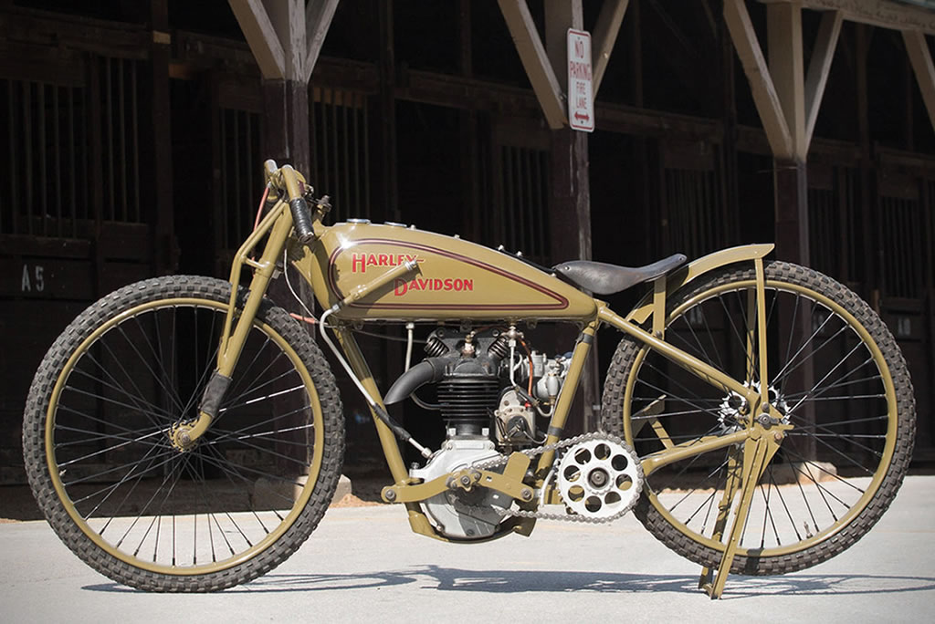 1928 Peashooter By Harley-Davidson Goes Under The Hammer