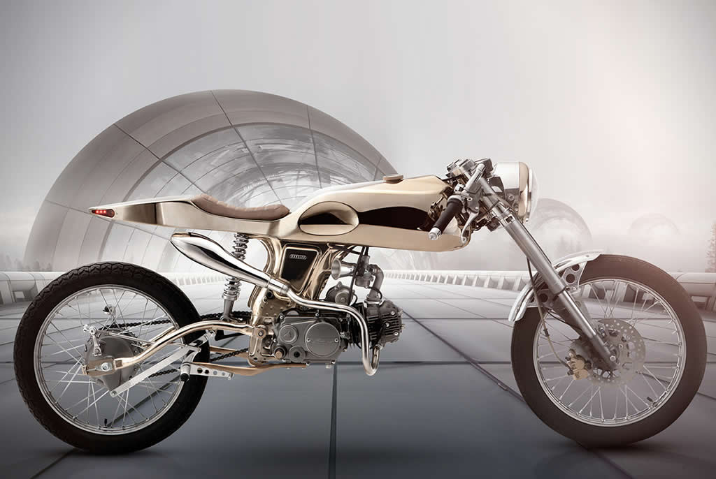 Bandit9 Motorcycles Honda SuperSport Eden 1