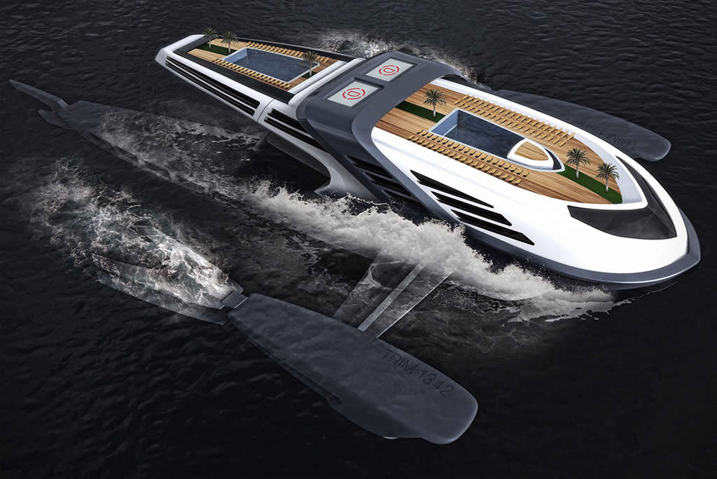 Beautiful Seataci Concept Yacht 1