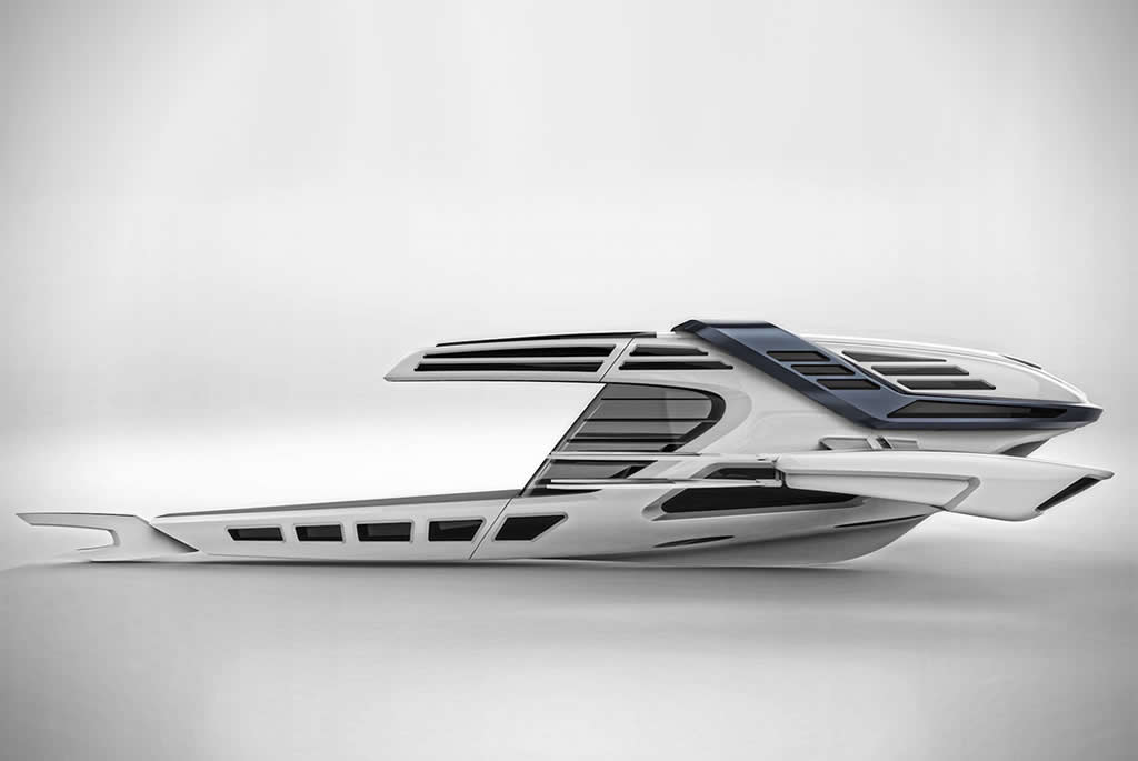 Beautiful Seataci Concept Yacht 2