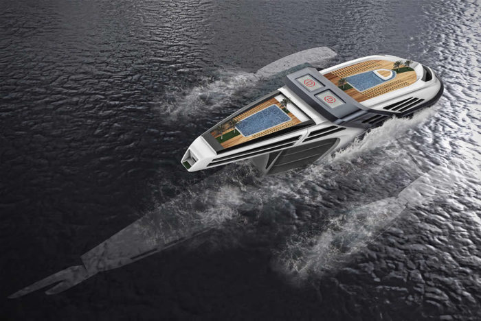 Beautiful Seataci Concept Yacht 3