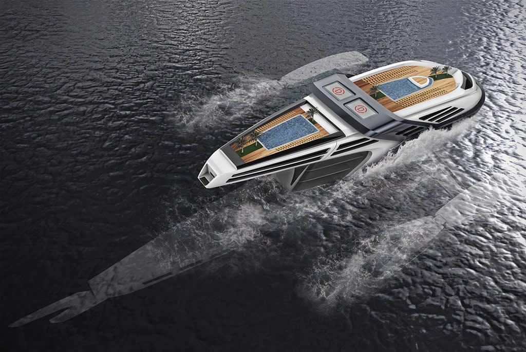 Beautiful Seataci Concept Yacht 3