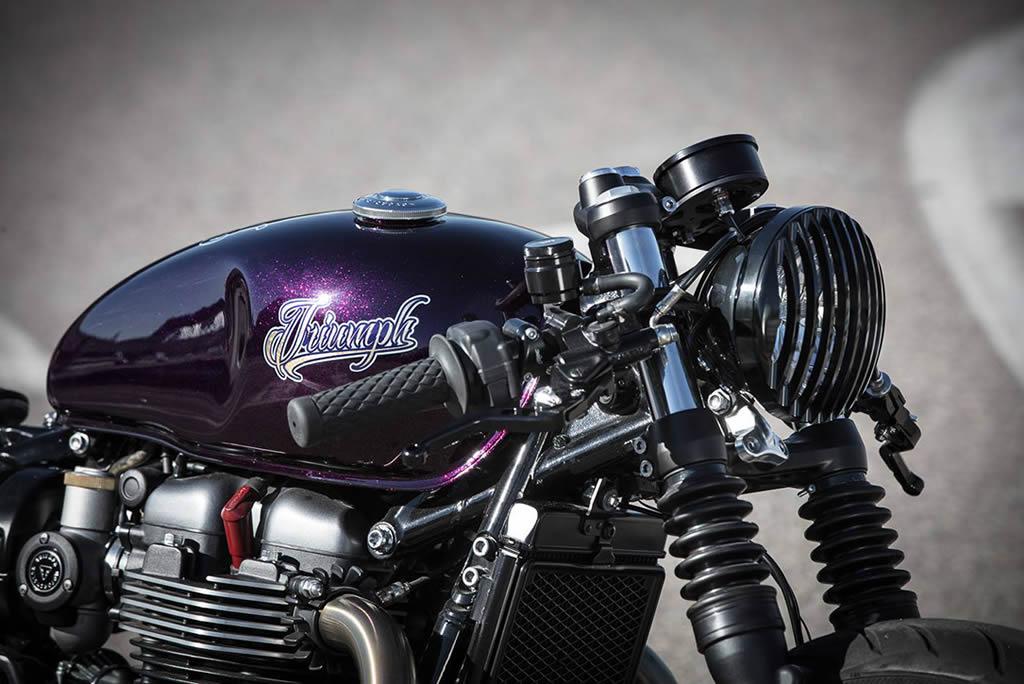 Down & Out Cafe Racers Creates A New Triumph Bonneville 5