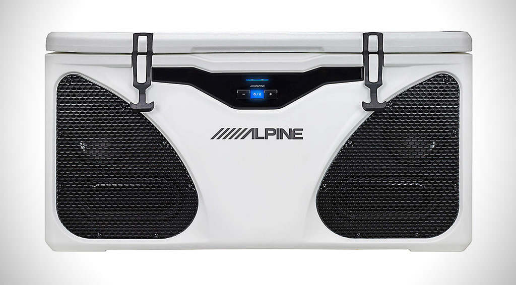 Fantastic ICE In-Cooler Entertainment System By Alpine 1
