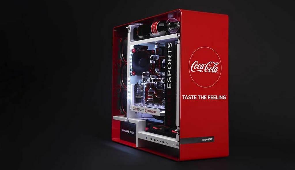 Maingear And Coca-Cola Create Amazing Gaming PC 1