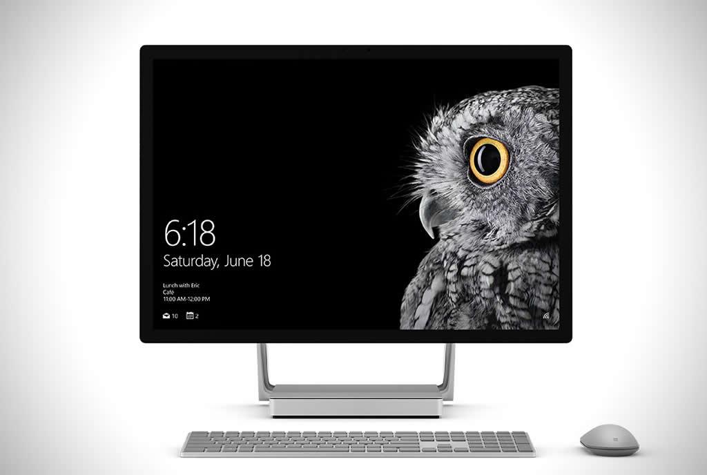 Microsoft's Surface Studio PC 1