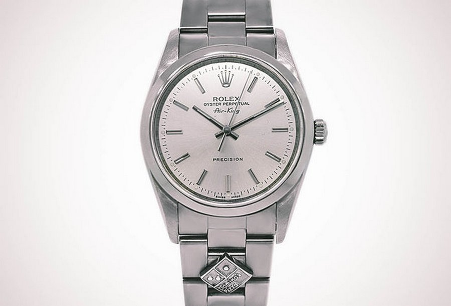 Special Rolex Watch Has A Domino's Logo On The Dial 2