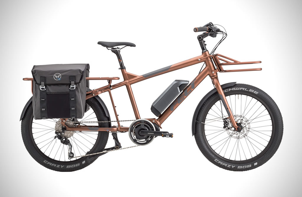 Impressive Felt Tote'm Electric Cargo Bike 1
