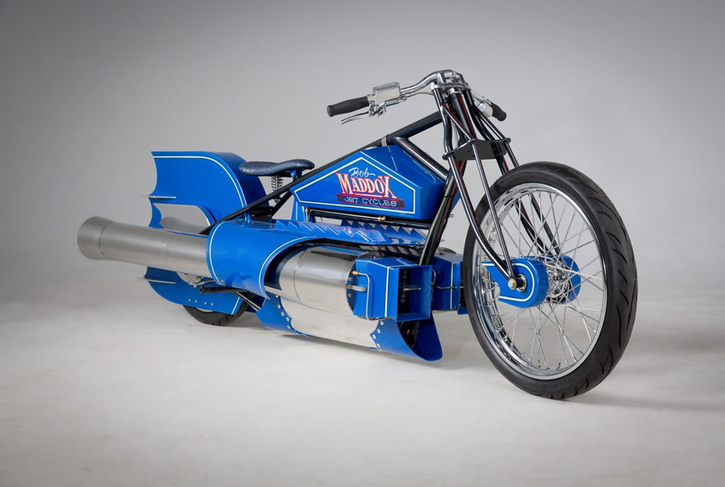Impressive Maddox Pulsejet Motorcycle 1