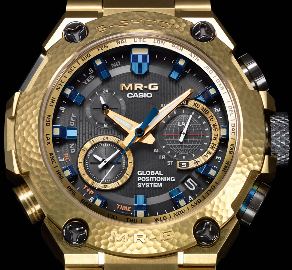 MR-G Gold Hammer Tone Watch By Casio 1