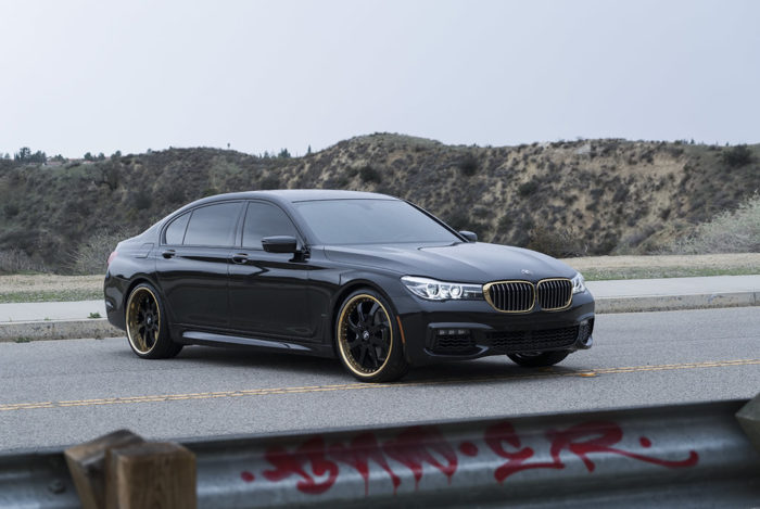 BMW 7-Series Boasts Eye-Catching Wheels 2