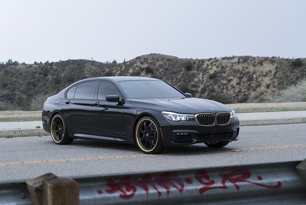 BMW 7-Series Boasts Eye-Catching Wheels 2