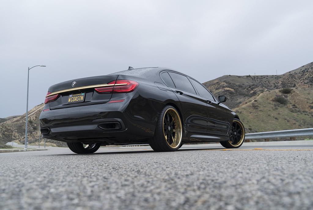 BMW 7-Series Boasts Eye-Catching Wheels 8