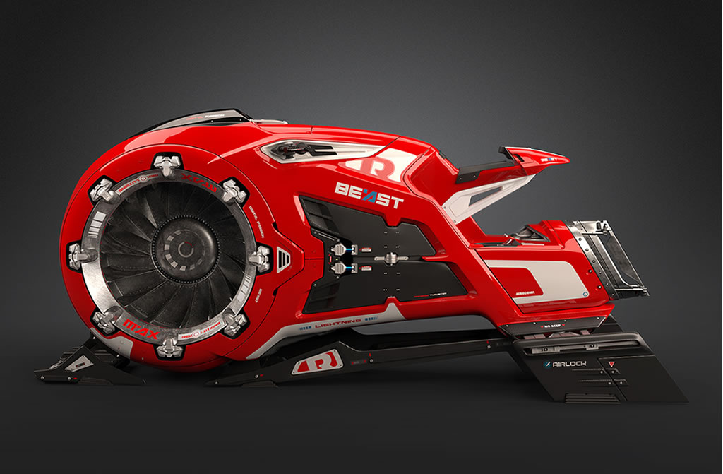 Beast Hoverbike Is Mind Blowing 1