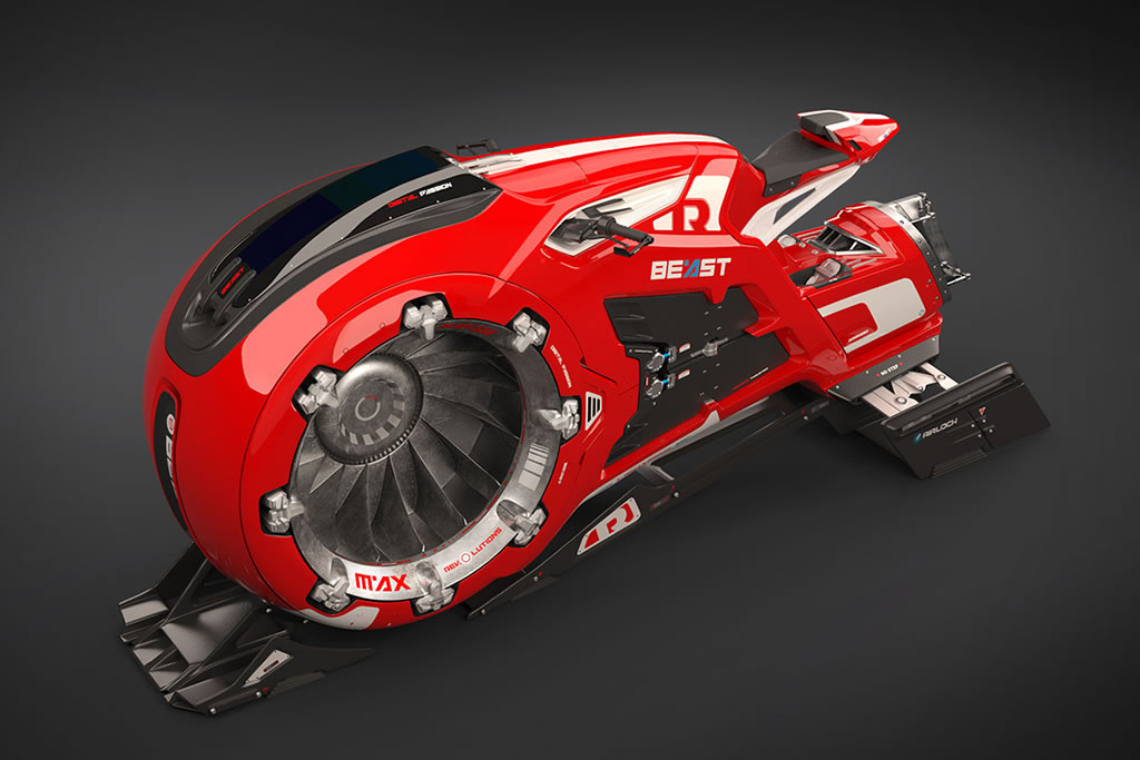 Beast Hoverbike Is Mind Blowing 2