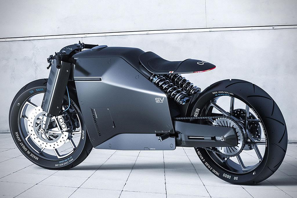 Beastly Samurai Carbon Fiber Motorcycle 1