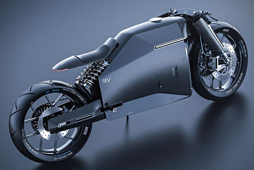 Beastly Samurai Carbon Fiber Motorcycle 2