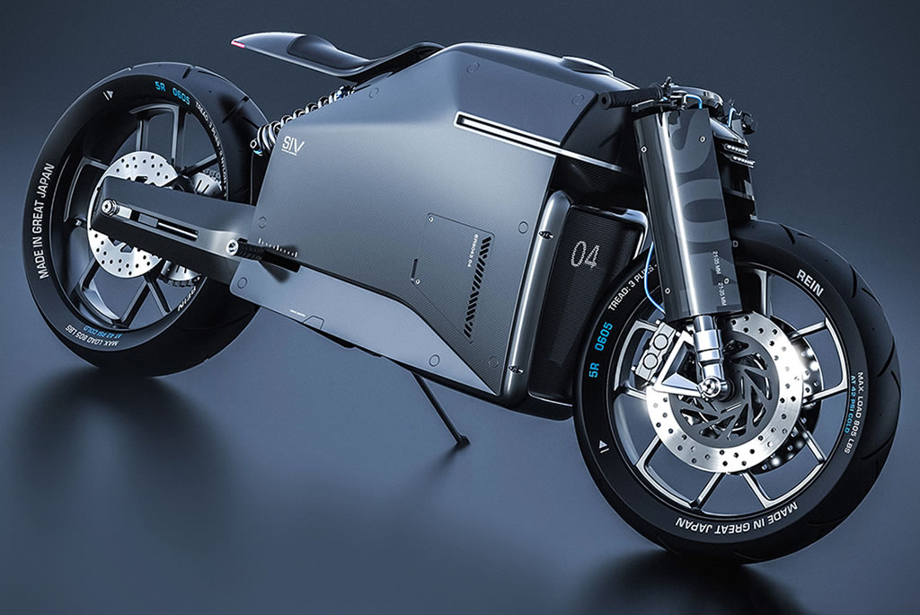 Beastly Samurai Carbon Fiber Motorcycle 3