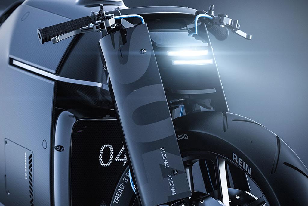 Beastly Samurai Carbon Fiber Motorcycle 4
