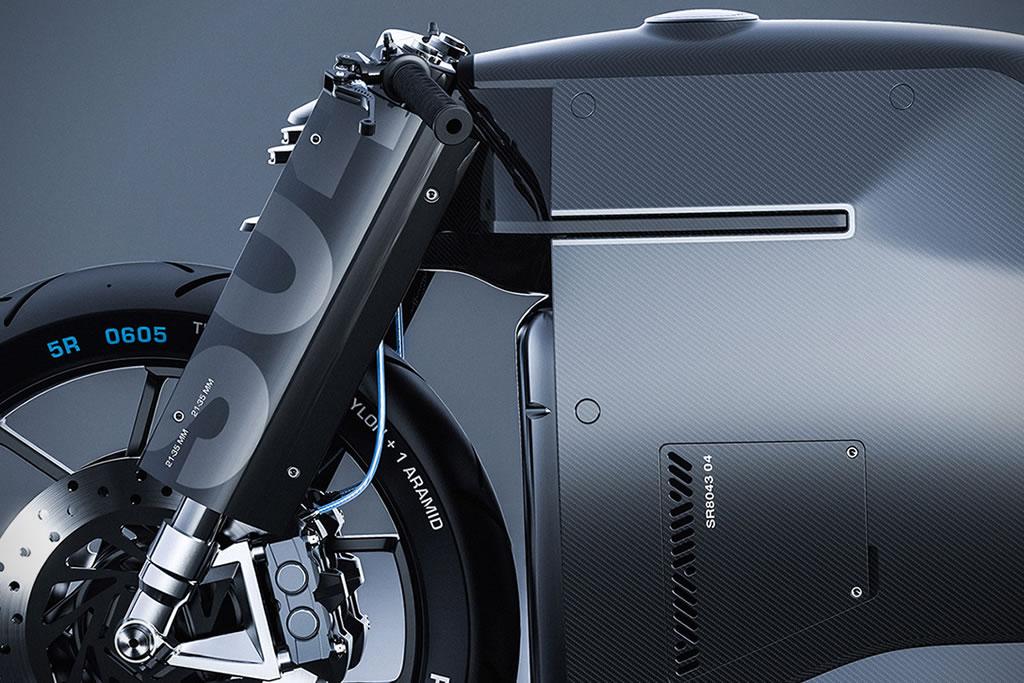 Beastly Samurai Carbon Fiber Motorcycle 5