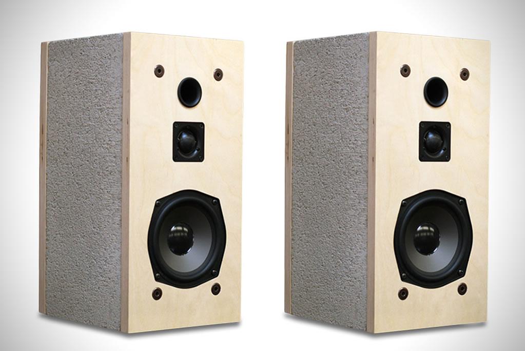 Cinder Block Speakers By Daniel Ballou 1