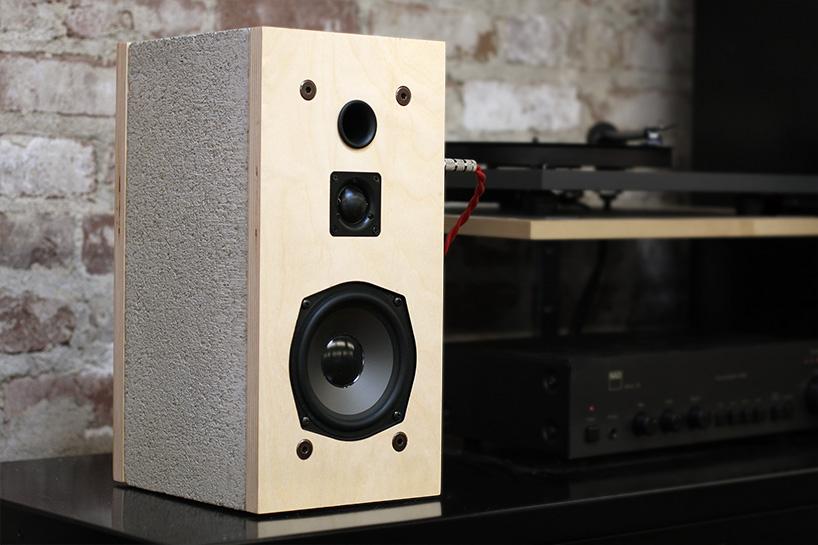 Cinder Block Speakers By Daniel Ballou 6