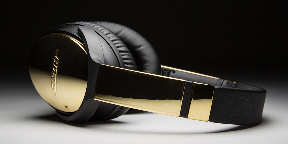 ColorWare Creates Bose QC35 Headphones In 24K Gold 1