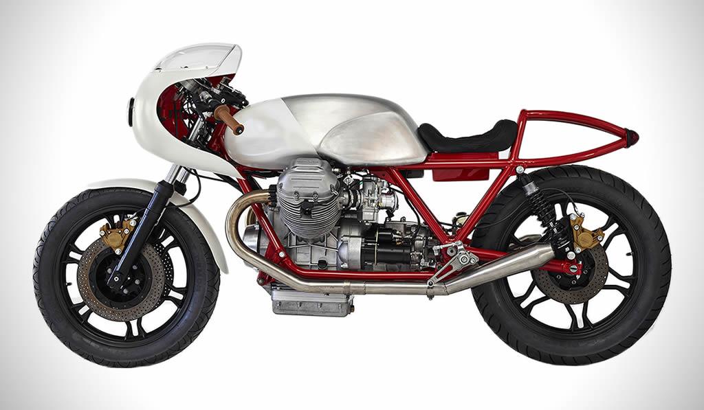 Death Machines Of London Creates A Moto Guzzi Airtail 1