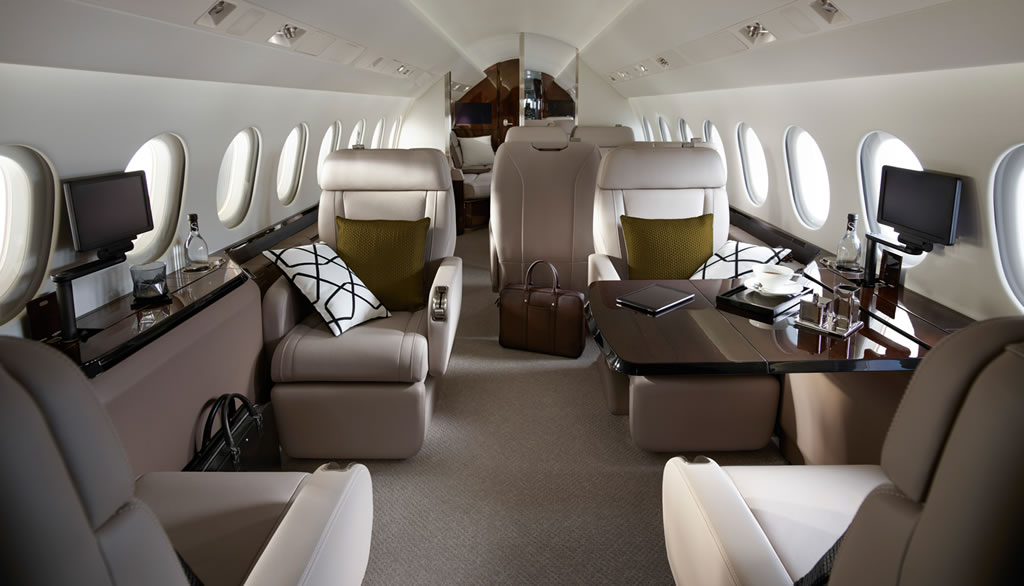 Falcon 900LX By Dassault Has Received Some Updates 2