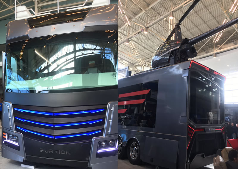 Furrion Elysium Luxury RV Has Its Own Mini Helicopter 2