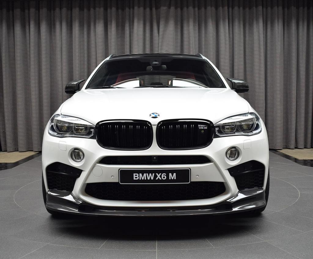 Gorgeous BMW X6M Showcased In Abu Dhabi (10)