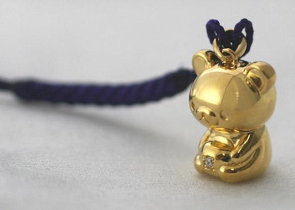 Incredibly Expensive 24-Karat Gold Rilakkuma Figurine 1