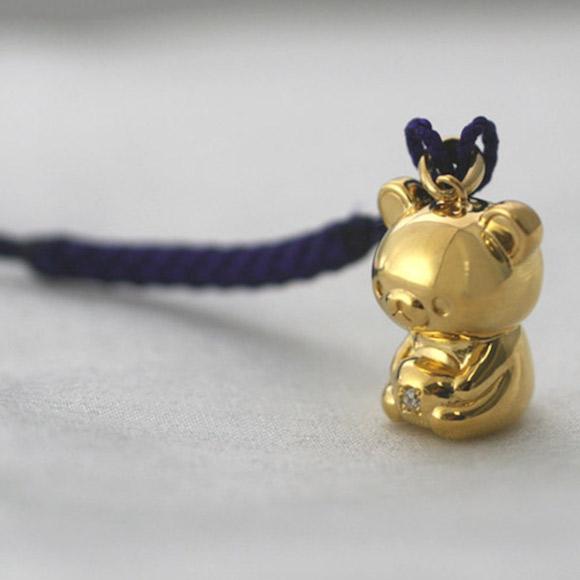 Incredibly Expensive 24-Karat Gold Rilakkuma Figurine 2