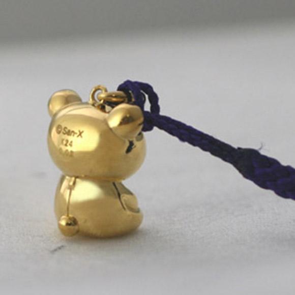 Incredibly Expensive 24-Karat Gold Rilakkuma Figurine 3