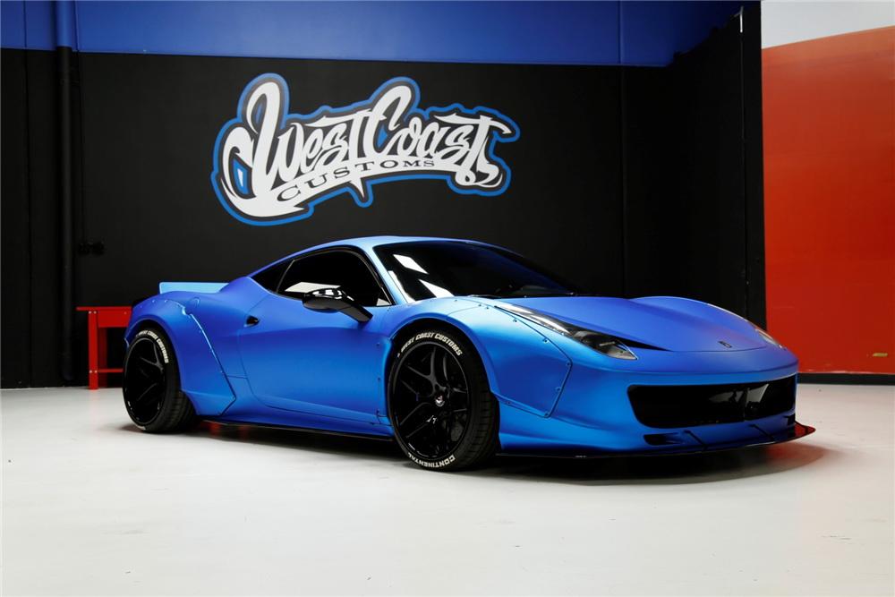 Justin Bieber's Ferrari 458 Italia Is Up For Sale 1