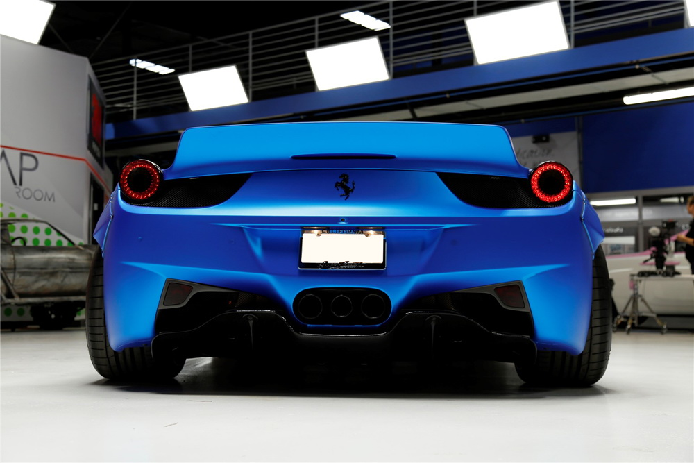 Justin Bieber's Ferrari 458 Italia Is Up For Sale 2